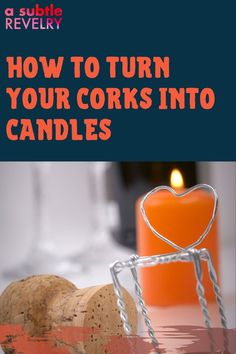 Here's a new decorative twist! Turn your corks into candles. A Subtle Revelry shows you why you want to keep your corks. Some people keep the decorative wine bottles to use them as vases for flowers. Now you can save all those corks. And if you want more you can even buy corks in bulk. The more corks you make into candles the more you have to light up all around your home - even use them for parties - just like you would a regular candle. Learn more… #corkcandles #lightupcorks #corklighting