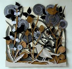 Beautiful Paper Artwork by Helen Musselwhite | Hunie