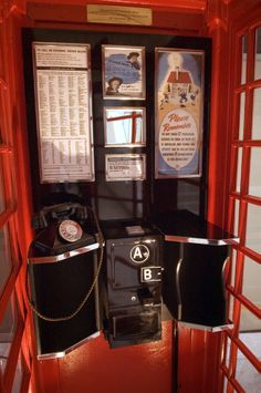 We are going back into pre-history here! The Button A/B box, I remember using one of these in 1961. You could only dial local calls on them - the local code list is shown on the backboard, as is a notice about the £2 television licence - it's now £145.50.