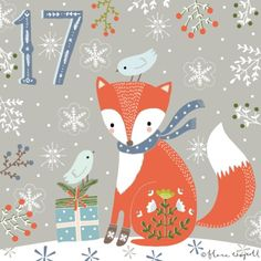 Flora Waycott Christmas Advent 2014 DAY 17 - Patiently waiting to open presents xx