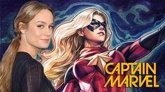 Brie Larson Had NO Idea Who Captain Marvel Is -MovieSpoon.com