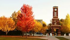Autumn at Snow College.  Ephraim, Utah. possible chance of being my college this fall!