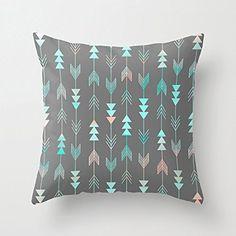 "18"" x 18"" Aztec Arrows Decorative Throw Pillow Case Cushion Cover"
