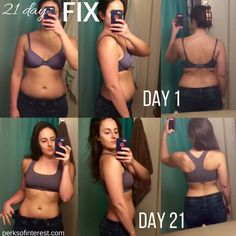 My 21 Day Fix Results! See my before and after pictures from my first round of the 21 Day Fix! - Perksofinterest.com