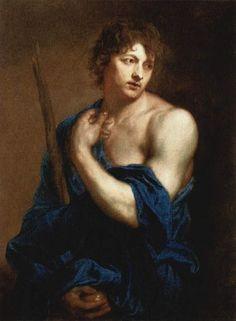 Sir Anthony van Dyck, Self-Portrait as Paris, c. 1628
