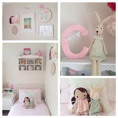 Pretty girl room with Minnen Bed