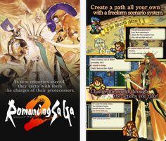 Square Enix pubblica su App Store il gioco Romancing Saga 2