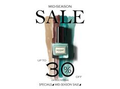 Mid-season SALE starts today up to 30% off on selected items! Check out http://www.soignenails.com/collections/special-offers