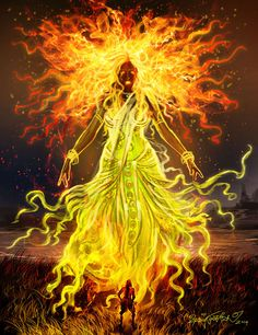 Mahabharatham - The Great Indian Epic. Indian Goddess, Goddess Art, Lord Shiva Family, Lord Murugan, Fantasy Mermaids, Shiva Shakti, Krishna Art, Hindu Art, Gods And Goddesses