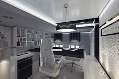 Office by Curly studio #office #interior #design