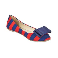 (http://www.lillybee.com/ole-miss-gameday-flat-and-dark-blue-bow/)