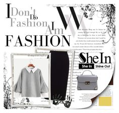 """Shein x"" by xpinkplaymatex ❤ liked on Polyvore featuring Balenciaga and Roland Mouret"
