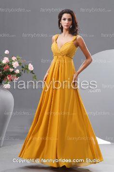 Summer Sweetheart Chiffon Elegant Long Evening Dress - Fannybrides.com Discount Prom Dresses, Bridesmaid Dresses Plus Size, Girls Dresses, Formal Dresses, Dress P, Getting Married, Evening Dresses, Chiffon, Graduation Dresses