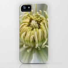 Clematis © iPhone & iPod Case by JUSTART - $35.00