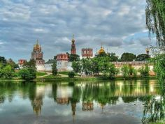 Novodevichy Convent during the summer, Moscow, Russia
