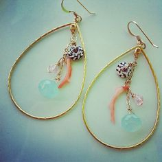 Love the natural beauty of shell jewelry