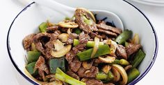 Whip up dinner in a flash with this classic beef in black bean sauce. Makes for great leftovers too.