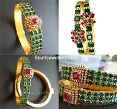 Emerald Bangle Models photo