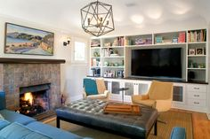 Jeff Troyer rearranged the floor plan of this 1930s bungalow to give it more rooms and a better flow. The end result is a bright, open house with a craftsman feel. From the experts at HGTV.com.