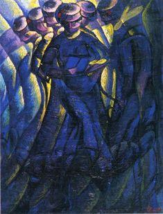 Plastic Synthesis Of Movements Of A Woman, 1912 — Luigi Russolo, Musée de Grenoble
