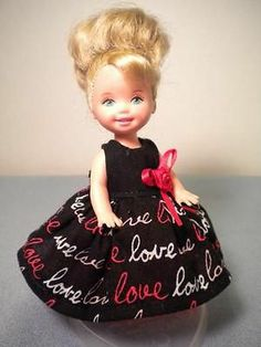 """Love"" for Kelly Size Dolls 4 1 2"" by Paula 