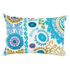 I pinned this Mahe Suzani Boudoir Pillow in White from the India's Heritage event at Joss and Main!