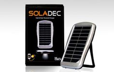 Soladec Hybrid Solar Power Charger: All-in-One Portable Solar Charger and Power Bank with Ultra High-Flux LED Light