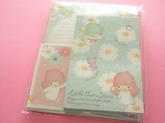 Photo1: Kawaii Cute Letter Set Sanrio Japan Exclusive *Little Twin Stars (CR11486)