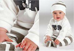 """Set bebe (3 piese) din material moale """"Nicki"""" - http://www.outlet-copii.com/outlet-copii/imbracaminte-copii/set-bebe-3-piese-din-material-moale-nicki/ - Bebe va fi foarte incantat in setul de bebe compus din 3 piese din material moale """"Nicki"""", pretyl este foarte bun, 59 lei si il poti cumpara din magazin Bonprix"""