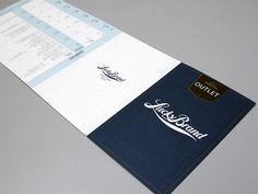 Lucky Brand brand identity by Mark Kasier branding