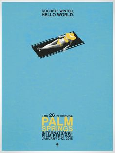 Destination PSP - 2015 Palm Springs International Film Festival Poster - Female