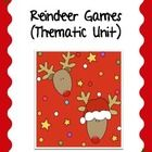 Come Join In Our Reindeer Games! This is a thematic unit that has reindeer themed activities for reading, writing, and math activities. It is for p...