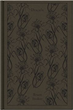 Dracula by Bram Stoker. Penguin's Clothbound Classics with cover design by Coralie Bickford-Smith.