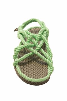 5c5ed4a72fe2 Your feet have never felt so comfortable! These neon green JC rope sandals  are perfect