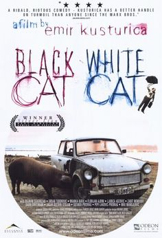 "Black Cat, White Cat - ""Crna macka, beli macor"" (original title) 1998. Director: Emir Kusturica Stars: Bajram Severdzan, Srdjan Todorovic, Branka Katic  Federal Republic of Yugoslavia 