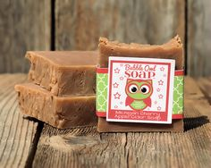 Michigan Cherry Apple Cider Soap by BubbleOwlSoap on Etsy