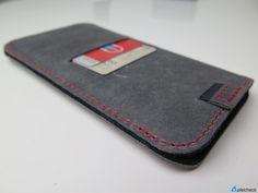 nice Review - germanmade. g.4 - Premium Leder-Sleeve für das iPhone 6 & 6 Plus