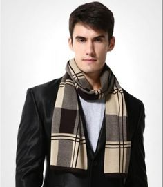 hipsterra.comMen's Plaid Woolen Scarf  Price: 45.00 & FREE Shipping  #menswear #mensfashion #fashion #men #style #menstyle #mensstyle #ootd #fashionblogger #streetstyle #model #streetwear #like #love #photography #lifestyle #instagood #streetfashion #outfit #photooftheday #instafashion #man #menfashion #menwithstyle #outfitoftheday #mensfashionpost #follow #shoes #fitness #bhfyp Fashion 2020, Daily Fashion, Woolen Scarves, Spring Fashion Outfits, Mens Fashion Shoes, Scarf Styles, Outfit Of The Day, Street Wear, Man Shoes