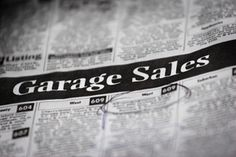 Garage Sales Shopping | Stretcher.com - Here is how to find the very best deals at garage sales in the least amount of time.