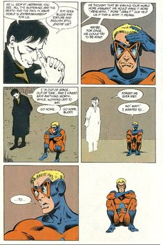 Grant Morrison in Animal Man #26 favorite instance of breaking the fourth wall.