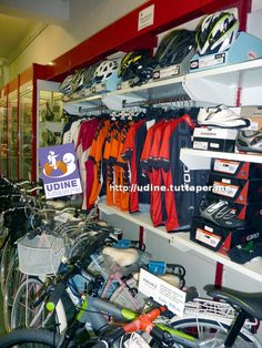 Bikestore via Caccia 44 | Udine #Udine #tuttaperme #bikestore #biciclette #ciclismo
