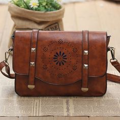 I am so happy to find the Geometry Hollow Retro Rivet Summer Shoulder Bag from ByGoods.com. I like it <3!Do you like it,too?