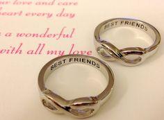 VENTA mismo día envío infinito anillo anillo de por BasiaJewelry