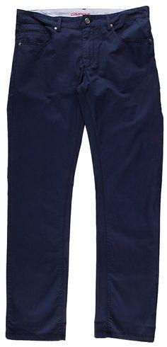 Blaue #Herrenhose mit optimaler Passform.