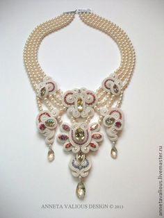Колье, ручная работа Lakshmi`s Gift - Bead Dreams. Handmade.