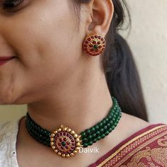 bead jewellery The Brand Known For Its Minblowing Heritage Jewellery Jewelry Design Earrings, Gold Earrings Designs, Bead Jewellery, Necklace Designs, Jewellery Designs, Branded Jewellery, Beading Jewelry, Jewelry Patterns, Diy Jewelry