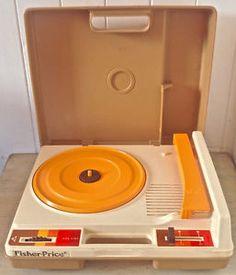 Vintage 1978. Collection. Jouet FISHER PRICE Tourne-disques L Lévis…