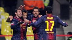 Spartak Moscow vs FC Barcelona highlights - FCB