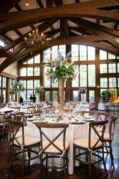 Donovan Pavilion Vail Wedding reception photos