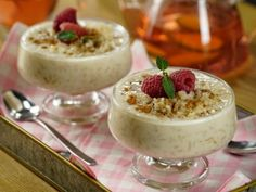 Rice with Healthy Milk Mexican Dinner Recipes, Fall Recipes, Mexican Food Recipes, Vegan Dessert Recipes, Delicious Desserts, Crockpot Rice Pudding, Healthy Milk, Healthy Food, Healthy Eating